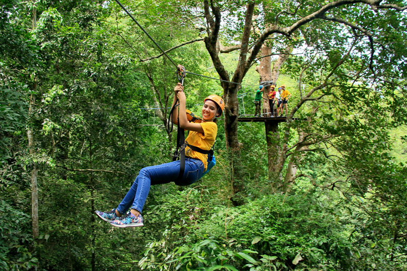 Flight of the Gibbon Zipline Rainforest Experience
